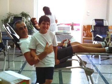 Μεγάλη η συμμετοχή στην εθελοντική αιμοδοσία Ιουλίου στο Δήμο Παλλήνης