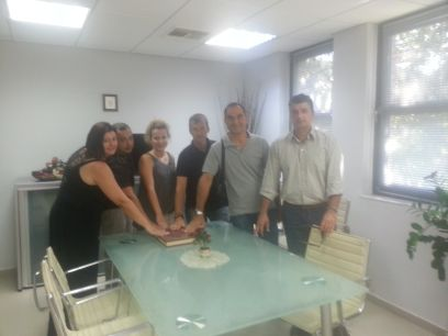 Ορκωμοσία 5 νέων μόνιμων εργαζομένων στο Δήμο Βριλησσίων