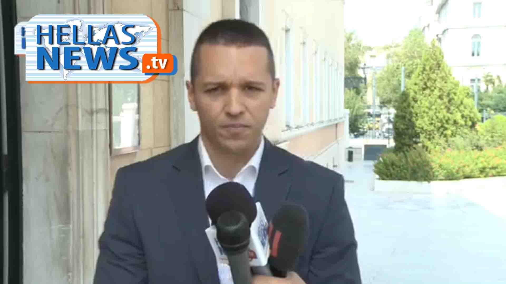 Βουλή- Δήλωση Ηλ. Κασιδιάρη για το μαύρο στα κανάλια, τα ΜΜΕ και τη διαπλοκή